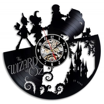 The Wizard of Oz Great Home Décor Vinyl Clock Gift