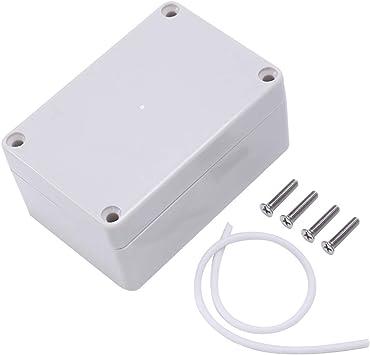 Nrpfell Caja de plastico electronica impermeable de la carcasa del ABS IP65 Caja de conexion 100 x 68 x 50: Amazon.es: Bricolaje y herramientas