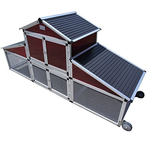 RITE FARM PRODUCTS LIFETIME SERIES CHICKEN TRACTOR MOBILE COOP POULTRY CAGE RUN Review