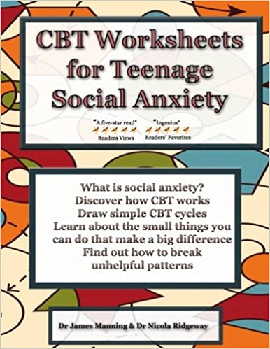 Cbt Worksheets For Teenage Social Anxiety: cbt worksheets for teenage social anxiety a cbt workbook to help ,
