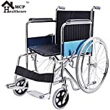 MCP Jindal Folding Steel Wheelchair