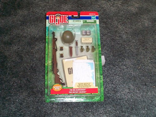 Gi Gear Joe Mission (Gi Joe The Big Surrender Top Secret Orders mission gear for 12