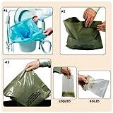 The Sani-Bag+Commode Liners SAVE - The Sani-Bag+ Commode Liners - Bulk pack of 200 liners (not individually wrapped)