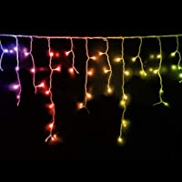 800 LED Curtain Fairy String Lights Wedding Outdoor Xmas Party Lights Multicolor 800 LED Multi-Colour