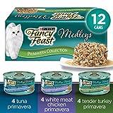 Fancy Feast Wet Cat Food, Elegant Medleys Primavera Variety Pack 85 g Cans (12 Pack)