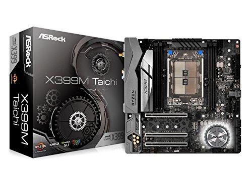ASRock Socket TR4/ AMD X399/ DDR4 Wi-Fi/A&2GbE/ MicroATX Motherboard (X399M ()