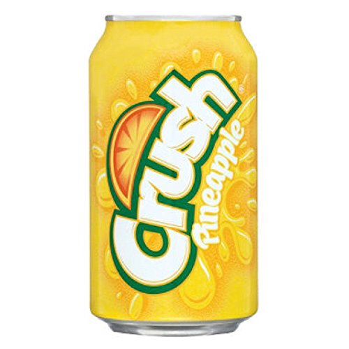 Crush Pineapple Soda 12oz Cans product image
