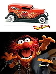 The Muppets Take Manhattan Movie DVD & Hot Wheels Animal Edition & Muppets in Space with Character Entertainment Car Set from Walt Disney Studios DVD