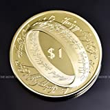 映画 ロード・オブ・ザ・リング ニュージーランド 限定記念コイン ゴールド Lord of Rings