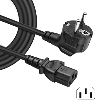 BENSN - Cable de alimentación para PC, LED TV, Monitor de ...
