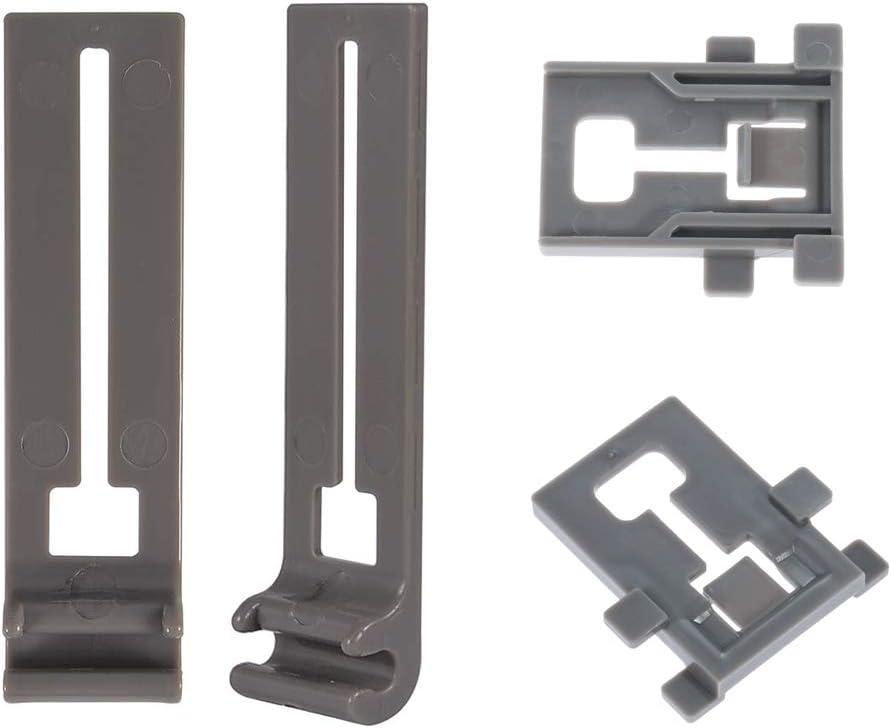 (Pack von 2) Dishwasher obere Rack Adjusterpositioner Replacement W10195840 & W10195839 für Kenmore/Kitchen Aid/Kitchenaid/Whirlpool/Roper/Sears