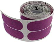Turbo Grips Semi-Smooth Fitting Tape Roll, 100-Piece, Purple