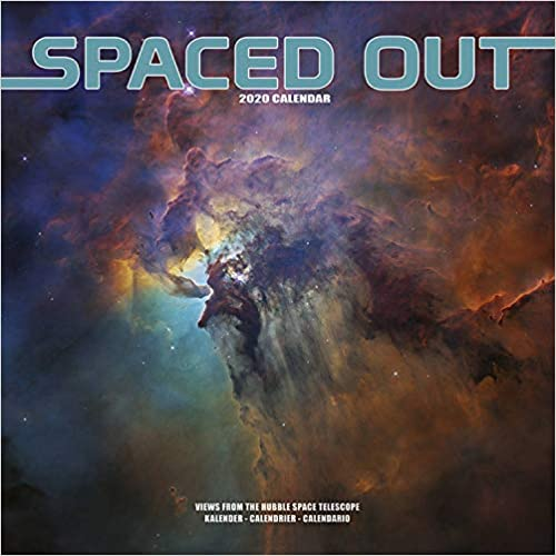 Spaced Out 2020 Wall Calendar