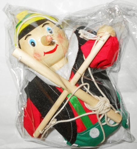 The New Pinocchio Marionette By The Original Toy Company (Marionette Pinocchio)