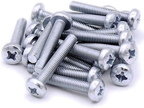 Pack de 20 Tornillos para m/áquina de sartenes M5 5 mm x 30 mm Pozi Acero
