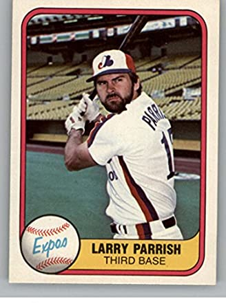 Amazoncom 1981 Fleer 146 Larry Parrish Montreal Expos