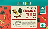 Organica USDA Certified Organic Tulsi Holy Basil Masala Tea, 2.5 oz (70 g) 25 tea bags