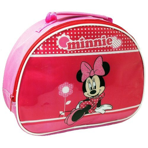 Mickey Mouse Disney Minnie Mouse Heart Insulated School Lunch Box Sandwich Cool Bag Gift Pink