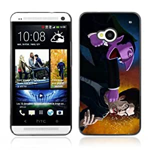 Designer Depo Hard Protection Case for HTC One M7 / Vampire Fight