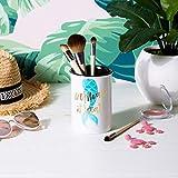 Tri-coastal Design Ceramic Makeup Brush Holder