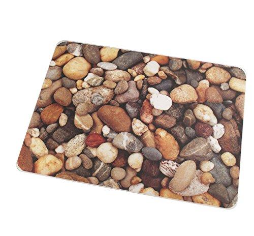 Pebble Mat (Colortex Ultimat Photomat, General Purpose Floor Mat with 'Pebbles' Photo Design, For Hard Floors, Rectangular, Size 36