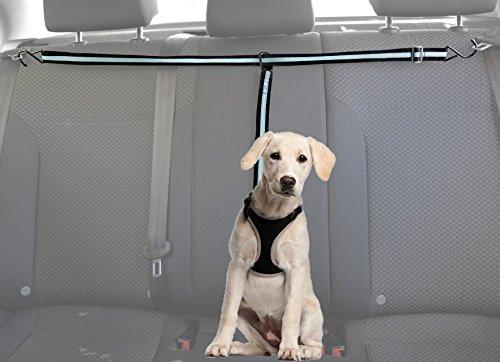 Adjustable Dog Car Safety Seat Belt Harness (Blue) - 8