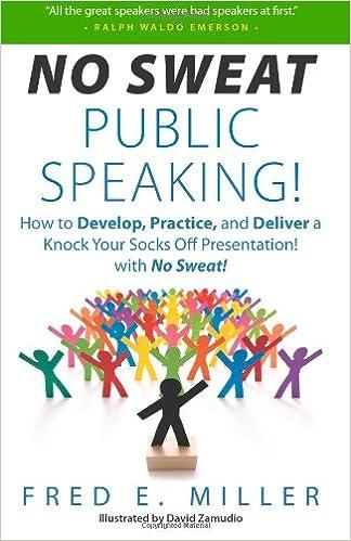 Public speaking sweating