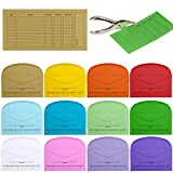 Supla 120 Pcs 12 Colors Cash Envelope Budget System Budgeting Envelopes Savings Deposit Envelopes Cash Organizer Envelopes Wallet System Budget Finance Keeper Pay Expense Envelopes and 1 Hole Puncher
