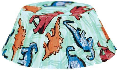 Fox Run Dinosaur Baking Cups, Regular, 50-Count (Dinosaur Cupcake Pan compare prices)