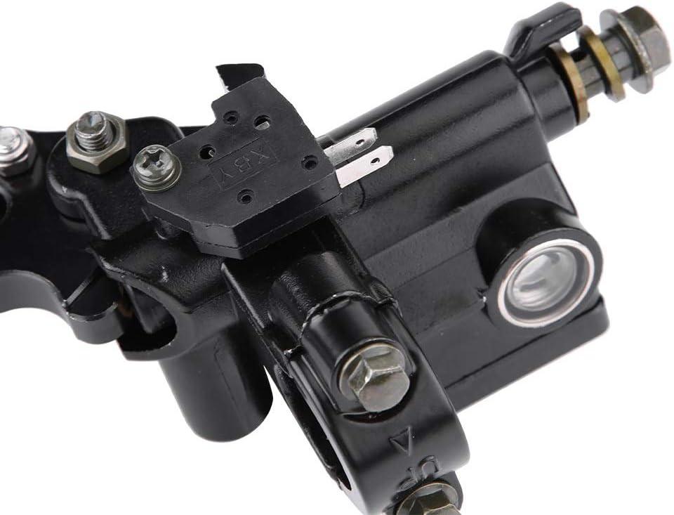 Brake Clutch Levers-1 Pair 7//8 22mm Universal Motorcycle Brake /& Clutch Master Cylinder Reservoir Levers