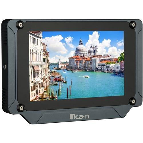 Ikan SX7 Saga 7'' Super Bright HDMI/3G-SDI Field Monitor, Black by Ikan
