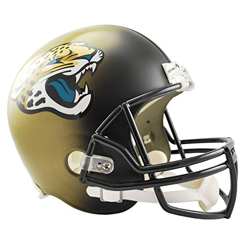 Jacksonville Jaguars Officially Licensed VSR4 Full Size Replica Football Helmet by Riddell