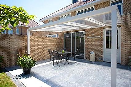 Tettoia per terrazza, 300 x 300, Trendline, in policarbonato: Amazon ...