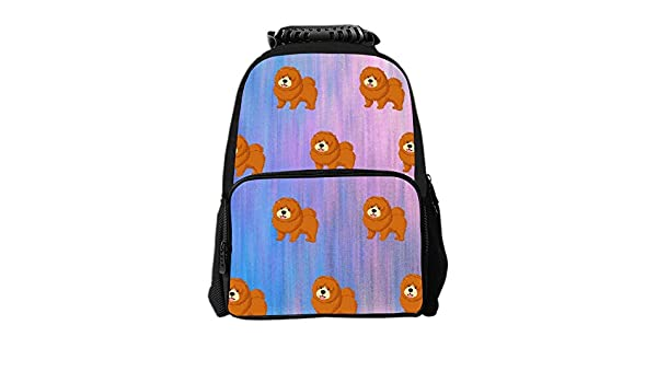 Amazon.com | SARA NELL Kids School Backpack Chow Chow Dog ...