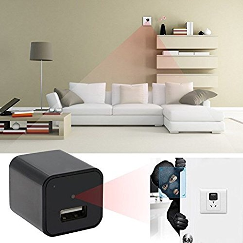 [TOPEYE Upgraded Version]- Hidden Camera-HD1080P-WiFi Remote View- Supports up to 128GB-Motion Detection-USB...
