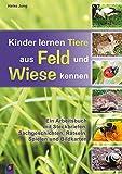 Kinder lernen Tiere aus Feld und Wiese kennen: Ein Arbeitsbuch mit Steckbriefen, Sachgeschichten, Rätseln, Spielen und Bildkarten