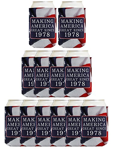 40th Birthday Gift Ideas Making America Great Since 1978 40t