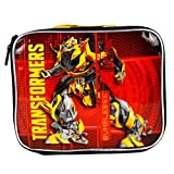Transformers Autobots BumbleBee Crimson Boys School Insulated Lunch Snack Bag