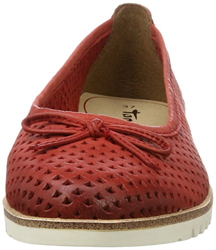 Chili 533 Tamaris Femme Rouge Ballerines 22121 aAwIv