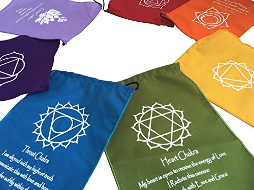- Large Seven Chakra Prayer Flags Banner Wall Hanging