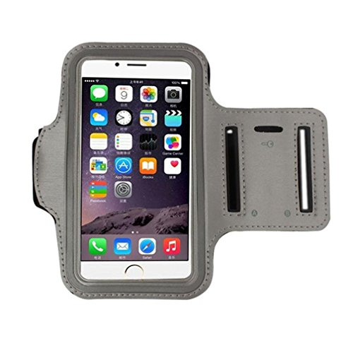 Iphone 8 Armband,AutumnFall For iphone 8 4.7 Inch 1PC Armband Gym Running Sport Arm Band Cover Case (Silver) ()