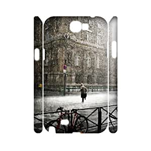 LTTcase Personalised Rainy Day 3D Case for samsung galaxy note2 n7100