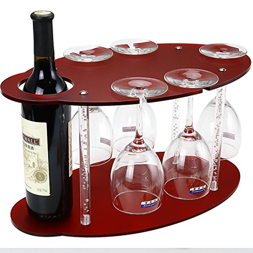 Wine and Glass Display..