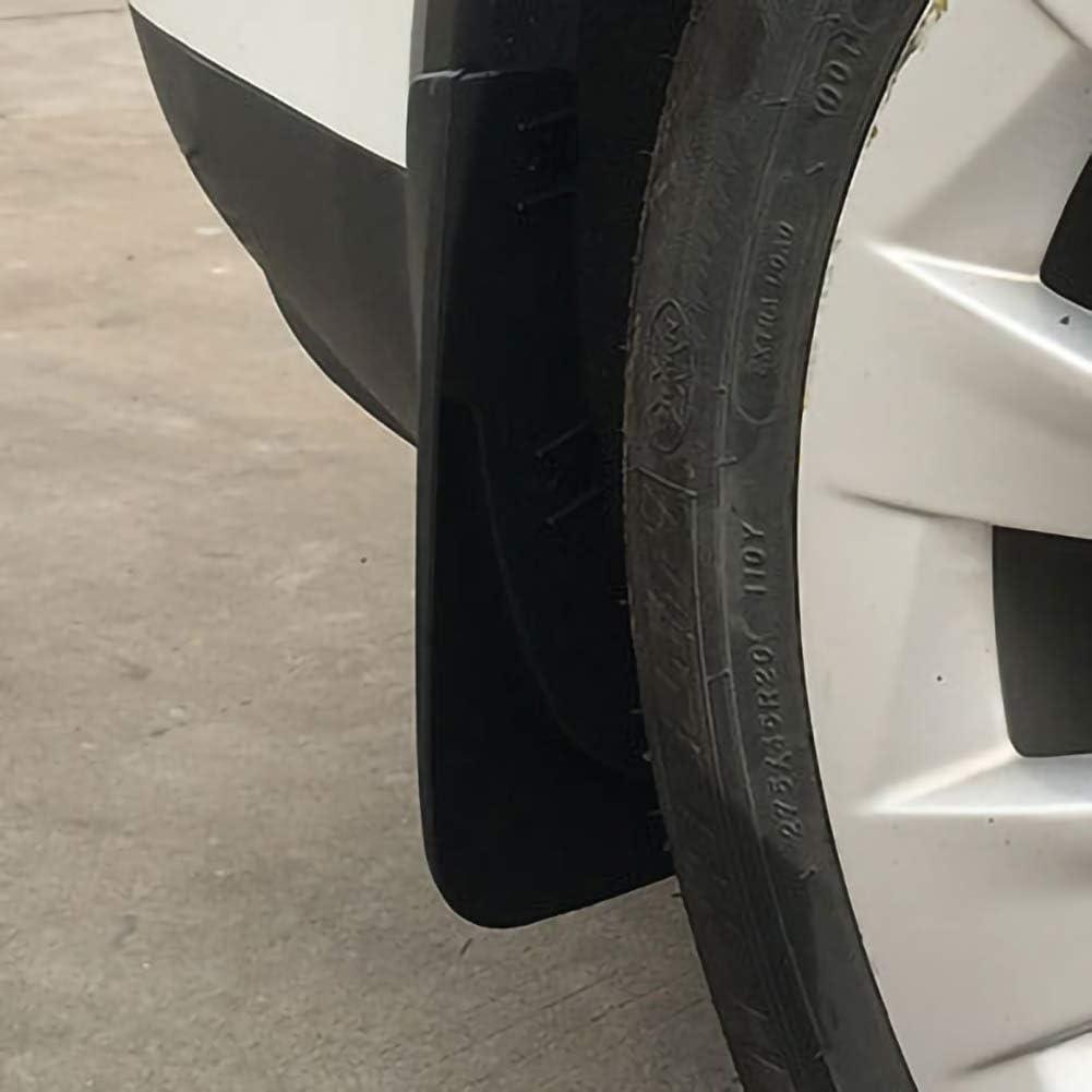 vis azfdxgfc Lot de 4 bavettes garde-boue de voiture pour Tesla mod/èle X 2019
