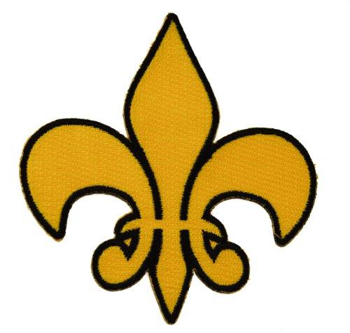 Fleur-de-lis Fleur de lis French Saints New Orleans Iron or Sew on Patch IVAN1516 ()