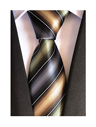 (Men's Grey Mint Green Tie Silk Luxury Unique Designer Cool Self uk Dress Necktie)