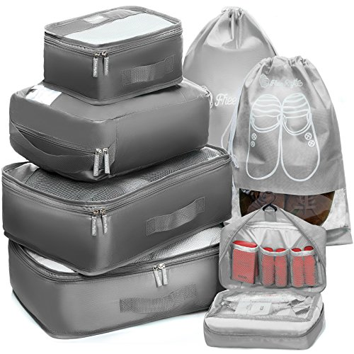 Packing Cubes Travel Set |Packing Cubes for Travel | Compression Packing Cube