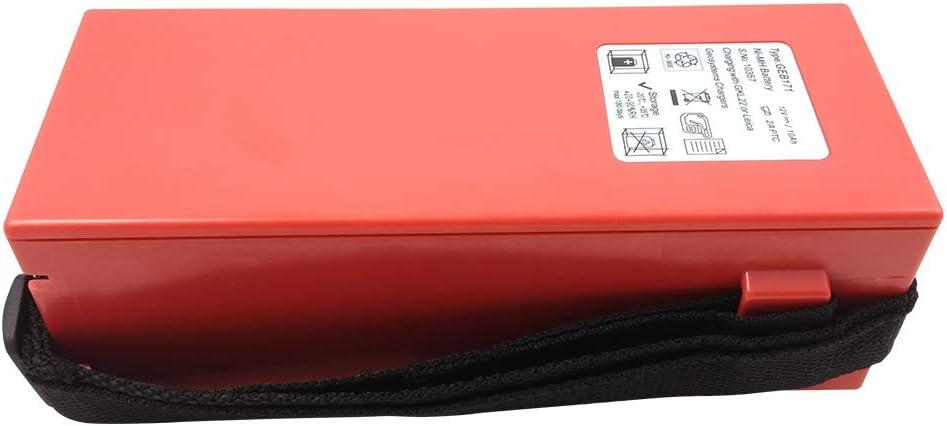 Nuevo GEB171 tipo compatible ni-MH batería externa 12V 10000mAh para Leica TPS1000 TCA1800 TC2003 estación total/GPS