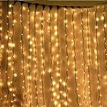 KKGUD LED Guirlande Rideau Lumineux 3...