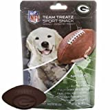 Nfl Green Bay Packers Dog Food Snack Treat Bone-Free. Dog Training Cookies Tasty Biscuits For Dog Rewards. Provides Healthy Dog Teeth & Gum, Soy-Free, Gluten-Free.